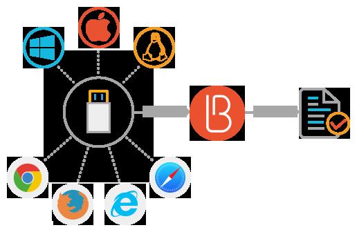 Поддерживаемые плагином браузеры и ОС